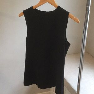 Theory Black Fitted Top**Like New**M